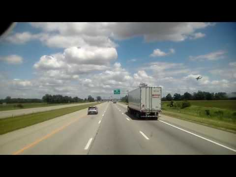 Military Cargo Aircraft Flying Near Columbus, Oh