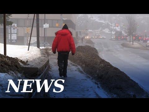 Flash Freeze Alert After Warm Winter Rainfall In Sudbury