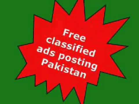 Free Classified Ads Pakistan, Pakistan Classified Ads, Free Ads Posting Pakistan