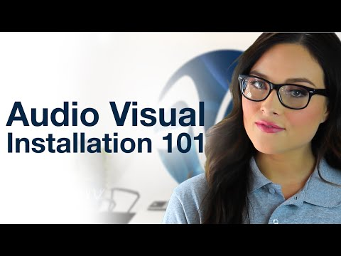 AV INSTALLATION 101 - Working with an Audio Visual Solutions Company by AV Planners