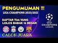 Daftar Tim Yang Lolos Babak 16 Besar Liga Champion 2020-2021 | Jadwal liga champion 2020|Berita bola