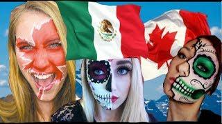 México alegra desfile de 150 aniversario de Canadá, yo participe