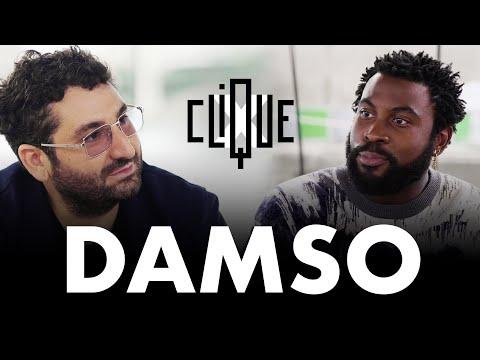 Youtube: Clique x Damso: Clique Aime Like Follow