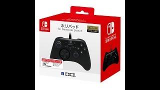 【HORIのプロコン 】ホリパッド for Nintendo Switchコントローラー 買ってきた。