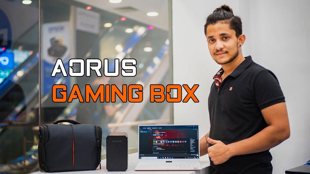 AORUS INDIA   GIGABYTE AORUS Gaming Box - Hands-on Experience