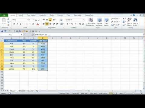 php manager tutorial for excel