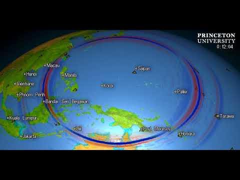 Magnitude 6.1 Quake, W. CAROLINE ISLANDS, MICRONESIA