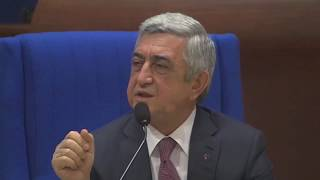 President of Armenia to the head of Azerbaijan's delegation in PACE: Just learn the facts!