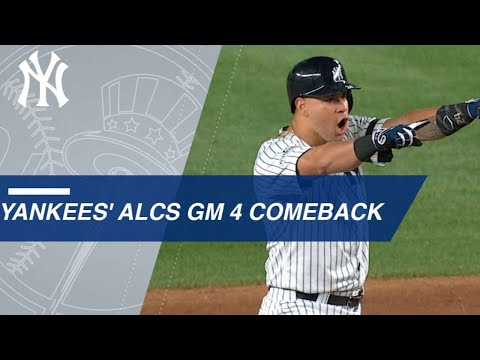 Watch the Yankees take a lead in the 8th inning of Game 4 of
