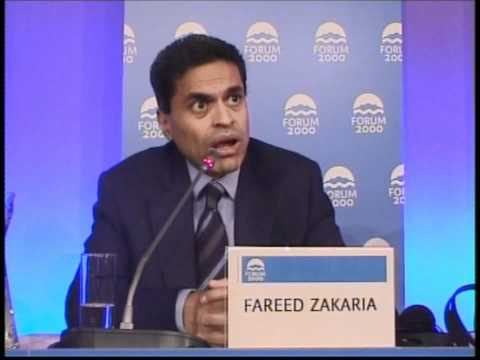 Fareed Zakaria: The Future of Freedom and Democracy | 2010 Forum 2000