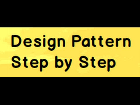 Learn C Design Patterns Step By Step In 8 Hours Youtube