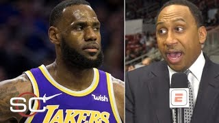 Stephen A. walks back LeBron, Lakers to Western Conference finals prediction  | SportsCenter