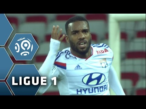 Alexandre Lacazette: his 27 goals of the season 2014/2015 -