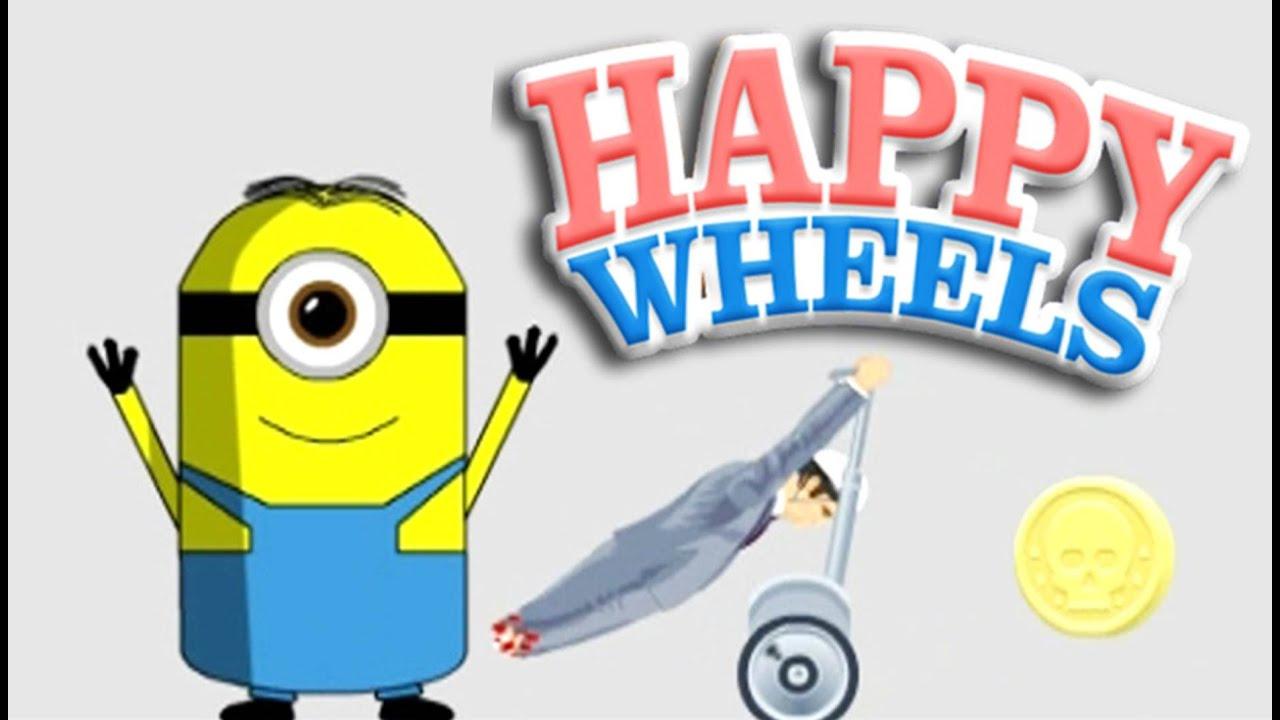 MINIONS!!! | Happy Wheels - YouTube