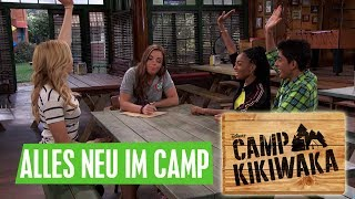 CAMP KIKIWAKA - Alles neu im Camp | Disney Channel