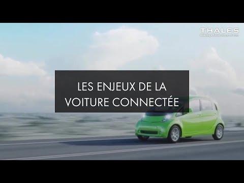 Les enjeux de la voiture connectée -Thales