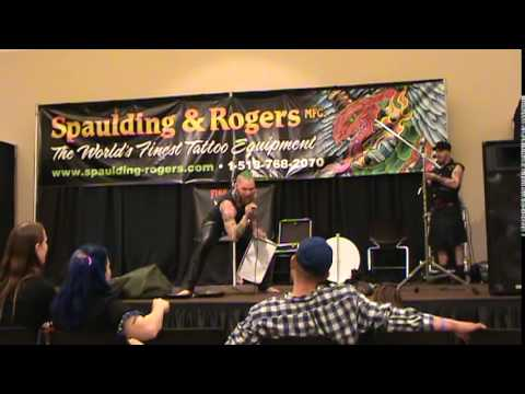 "Lenn Oddity - ""On Stage at the Saratoga Tattoo Expo"" April 12, 2015"