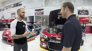 Jeff Gordon's Secret to Winning At Hendrick Motorsports: Garage Tours w/ Chris Forsberg