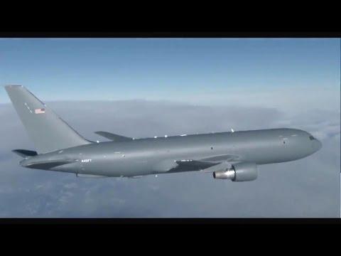 Boeing - KC-46A Pegasus Tanker Aircraft First Flight [720p]