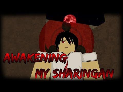 [NEW CODE] Awakening My Sharingan   Ranked Up From D- to D+   Shinobi Story Roblox