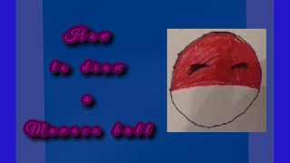 How to draw a Monaco ball.
