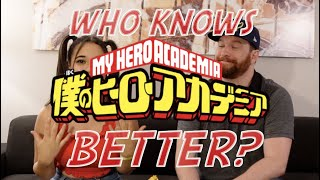 Who Knows My Hero Academia better? Voice of Denki Kaminari or me? FEATURING KYLE PHILLIPS