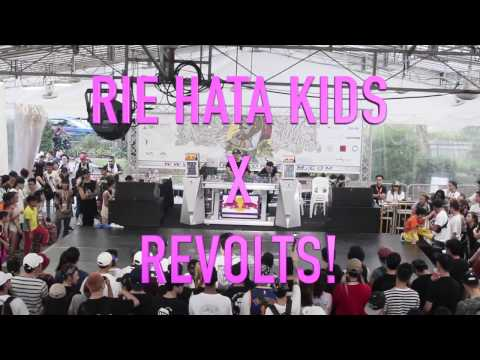 Rie Hata kids X Revolts!   RF Jam Singapore 2017 (Radikal Forze Jam 2017)