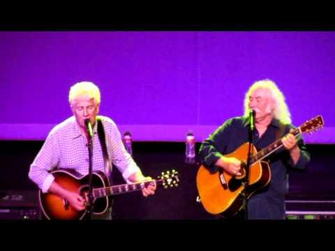 David Crosby & Graham Nash - Wasted on the Way (Live, 07/17/2011)