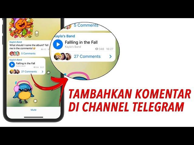 Cara Buat Fitur Komentar di Channel Telegram