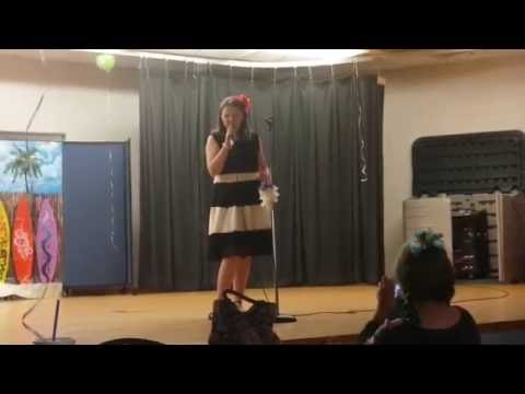 Emily @ Tavares Middle School Talent Show