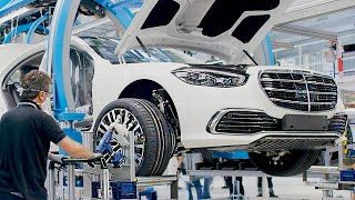 Mercedes S-Class (2021) PRODUCTION - The Most Modern Car Factory in the World