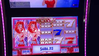 "VGT Slots ""Ruby's  Red Spin Wild"" Several Live Red Wins  Choctaw Casinio, Durant, OK"