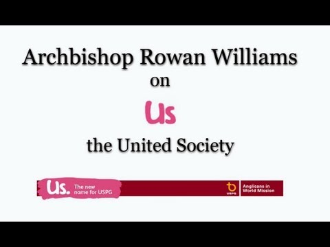 Archbishop's message for Us -  the United Society