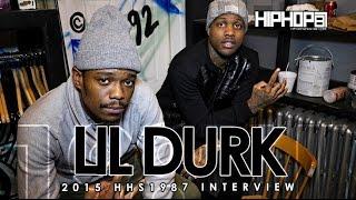 Lil Durk Talks