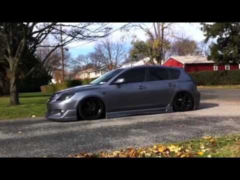 Bagged Mazda 3 Youtube