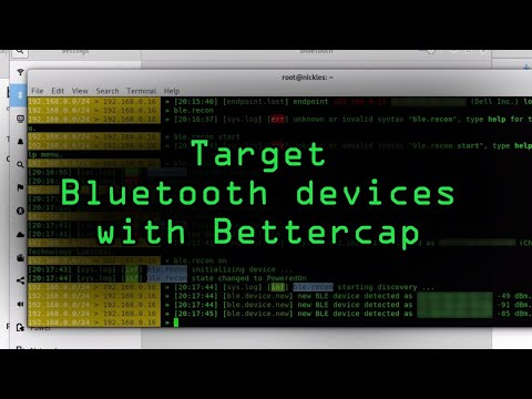 How To: Target Bluetooth Devices with Bettercap