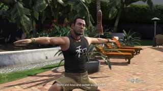 Let´s Play GTA 5 Gameplay Mission 27 - Yoga beruhigt  (Re-Upload) German Full HD   GUT!!!
