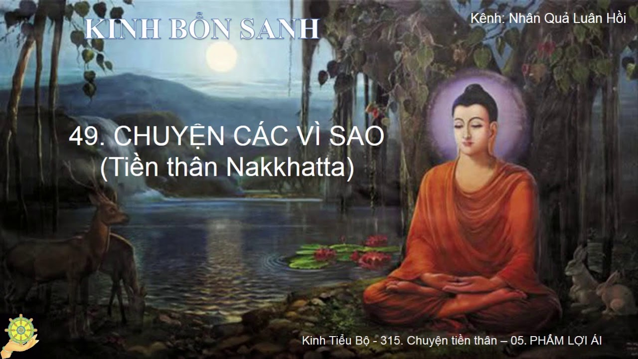49 CHUYỆN CÁC VÌ SAO - Tiền thân Nakkhatta - Truyện Tiền Thân Đức Phật Tập 1