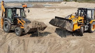 Tough Competition-Escorts VS Case Backhoe-Escorts Goes out of Order