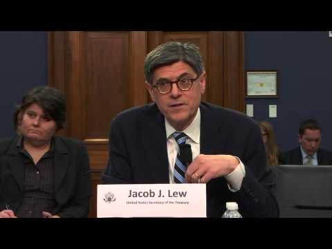 Hearing; Department of Treasury FY 2016 Budget (EventID=103034)