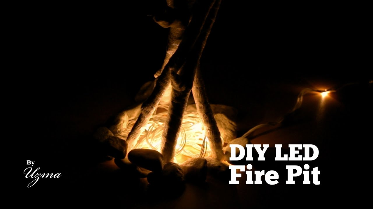 Diy led fire pit easy do it yourself decoration project youtube diy led fire pit easy do it yourself decoration project solutioingenieria Images