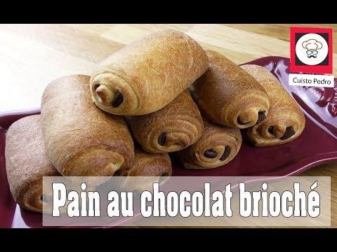 Recette pain au chocolat brioche Thermomix TM5