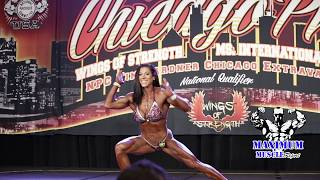 Alyssa Isley   IFBB Chicago Pro 2018