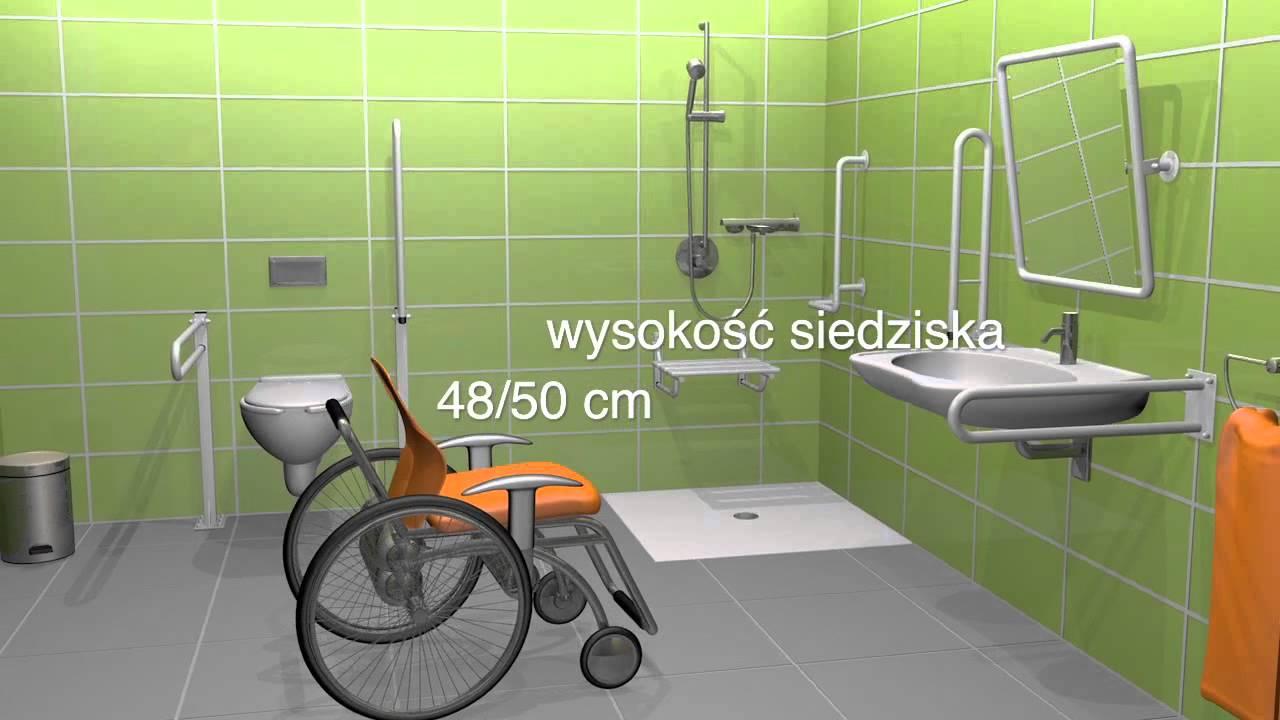 Strefa Manewrowa Wc Dla Niepełnosprawnych