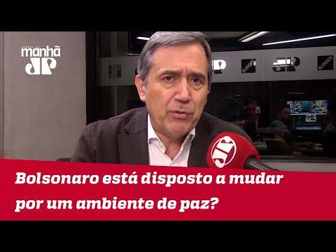 Bolsonaro está disposto a largar linguagem bélica por um ambiente de paz? | #MarcoAntonioVilla