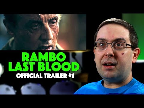 REACTION! Rambo: Last Blood Trailer #1 – Sylvester Stallone Movie 2019