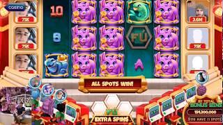 Fu Stack Bonus 11 spots Pop slots