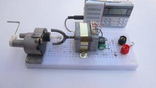 hướng dẫn chế tạo radio quay tay _ kênh chế tác