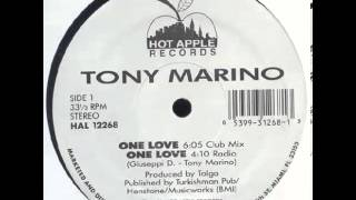 Tony Marino  One Love Club Mix