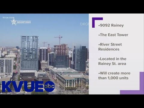 3 new residential towers coming to Rainey Street   KVUE